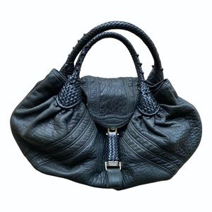 Fendi spy bag black